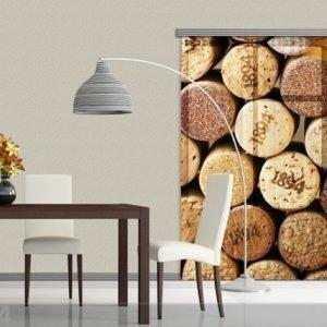 Ag Design Fotoverho Botlle Corks 140x245 Cm