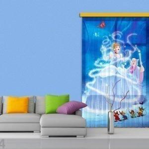 Ag Design Fotoverho Disney Cinderella 140x245 Cm