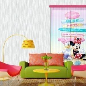 Ag Design Fotoverho Disney Daisy And Minnie 140x245 Cm