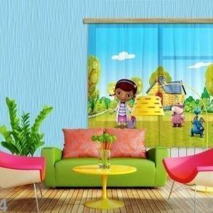 Ag Design Fotoverho Disney Doc.Mcstuffins 180x160 Cm