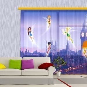 Ag Design Fotoverho Disney Fairies In London 180x160 Cm
