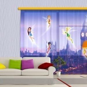 Ag Design Fotoverho Disney Fairies In London 180x160 Cm