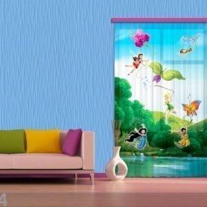 Ag Design Fotoverho Disney Fairies With Rainbow 140x245 Cm