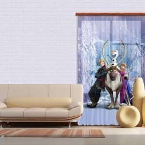 Ag Design Fotoverho Disney Ice Kingdom 140x245 Cm
