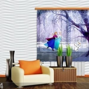 Ag Design Fotoverho Disney Ice Kingdom 180x160 Cm