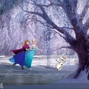 Ag Design Fotoverho Disney Ice Kingdom 280x245 Cm
