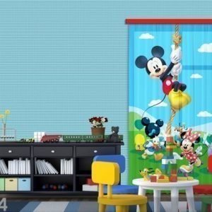 Ag Design Fotoverho Disney Mickey On A Rope 140x245 Cm