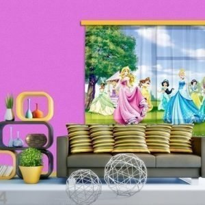 Ag Design Fotoverho Disney Princess 180x160 Cm