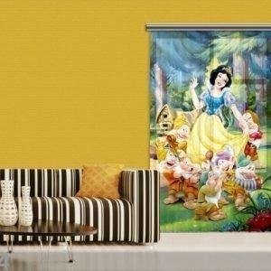 Ag Design Fotoverho Disney Snow White 140x245 Cm