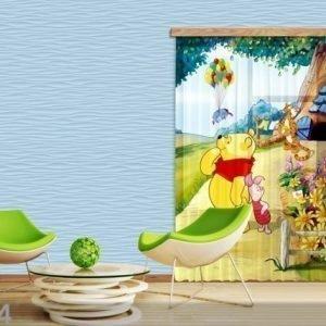 Ag Design Fotoverho Disney Winnie The Pooh 140x245 Cm