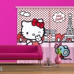 Ag Design Fotoverho Hello Kitty With Mouse 280x245 Cm