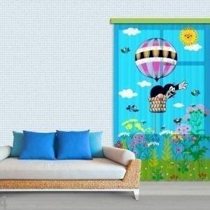 Ag Design Fotoverho Mole And Balloon 140x245 Cm
