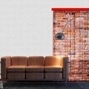 Ag Design Fotoverho Red Bricks 140x245 Cm