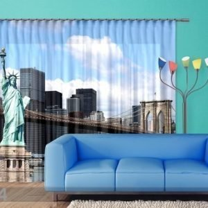 Ag Design Fotoverho Statue Of Liberty 280x245 Cm