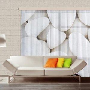 Ag Design Fotoverho White Stones 280x245 Cm