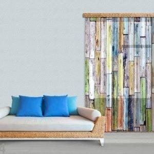 Ag Design Fotoverho Wood 140x245 Cm