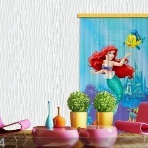 Ag Design Pimentävä Fotoverho Disney Ariel I 140x245 Cm