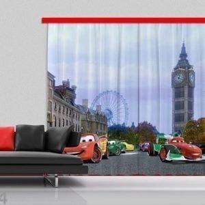 Ag Design Pimentävä Fotoverho Disney Cars 280x245 Cm