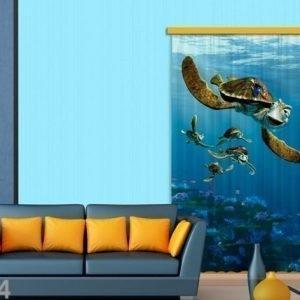 Ag Design Pimentävä Fotoverho Disney Finding Nemo I 140x245 Cm
