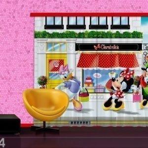 Ag Design Pimentävä Fotoverho Disney Minnie 280x245 Cm