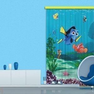 Ag Design Pimentävä Fotoverho Disney Nemo I 140x245 Cm
