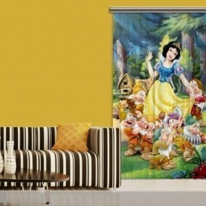 Ag Design Pimentävä Fotoverho Disney Snow White I 140x245 Cm
