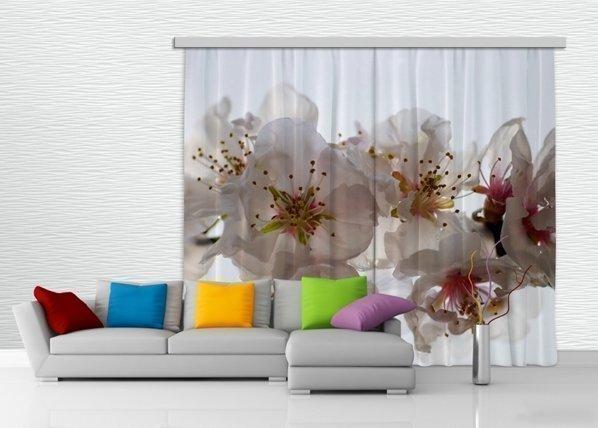 Ag Design Pimentävä Fotoverho Flowers 280x245 Cm