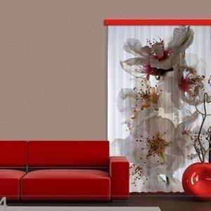 Ag Design Pimentävä Fotoverho Flowers I