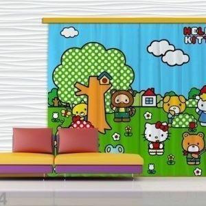 Ag Design Pimentävä Fotoverho Hello Kitty 280x245 Cm