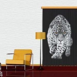 Ag Design Pimentävä Fotoverho Leopard I