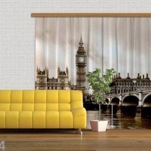 Ag Design Pimentävä Fotoverho London 280x245 Cm