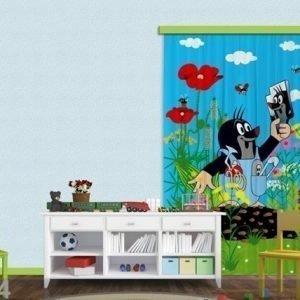 Ag Design Pimentävä Fotoverho Mole And Mirror I 140x245 Cm