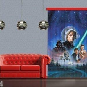 Ag Design Pimentävä Fotoverho Star Wars 140x245 Cm