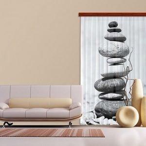 Ag Design Pimentävä Fotoverho Stones I