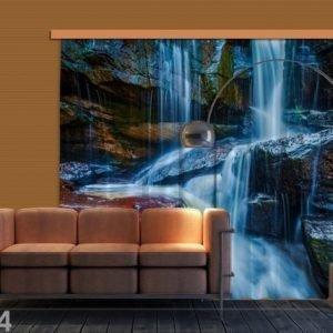 Ag Design Pimentävä Fotoverho Waterfall 280x245 Cm