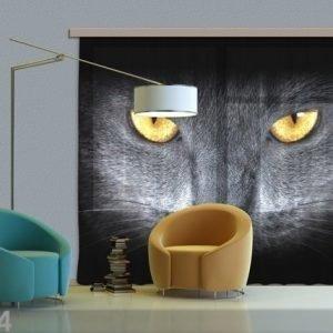 Ag Design Puolipimentävä Fotoverho Black Cat 280x245 Cm