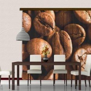 Ag Design Puolipimentävä Fotoverho Coffee 280x245 Cm