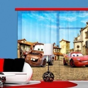 Ag Design Puolipimentävä Fotoverho Disney Cars 2 280x245 Cm