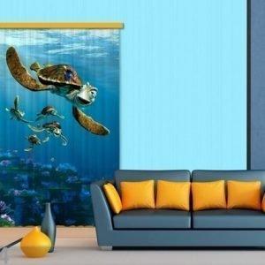 Ag Design Puolipimentävä Fotoverho Disney Finding Nemo 140x245 Cm
