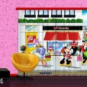 Ag Design Puolipimentävä Fotoverho Disney Minnie 180x160 Cm