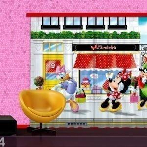 Ag Design Puolipimentävä Fotoverho Disney Minnie 280x245 Cm