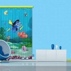 Ag Design Puolipimentävä Fotoverho Disney Nemo 140x245 Cm