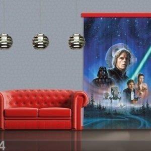 Ag Design Puolipimentävä Fotoverho Disney Star Wars 140x245 Cm