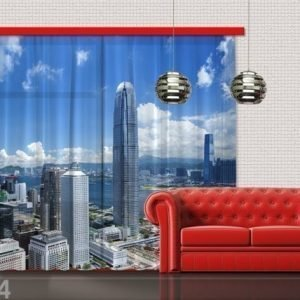 Ag Design Puolipimentävä Fotoverho Dubai 280x245 Cm