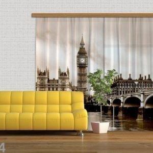 Ag Design Puolipimentävä Fotoverho London 280x245 Cm
