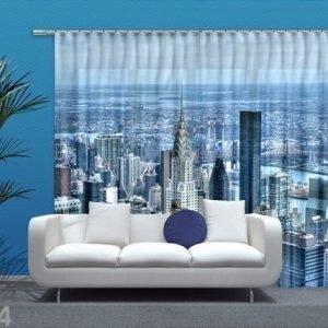 Ag Design Puolipimentävä Fotoverho New York 280x245 Cm