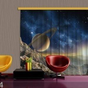 Ag Design Puolipimentävä Fotoverho Saturn 280x245 Cm