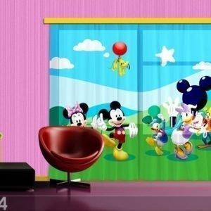 Ag Design Verho Disney Mickey And Friends 280x245 Cm