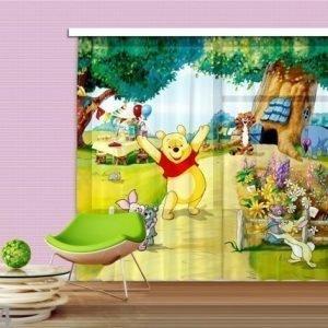 Ag Design Verho Disnyey Winnie The Pooh 280x245 Cm