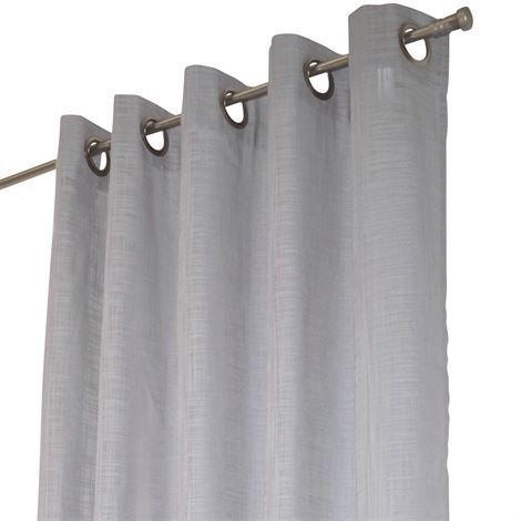 Arvidssons Textil Norrsken Rengasverho Vaaleanharmaa